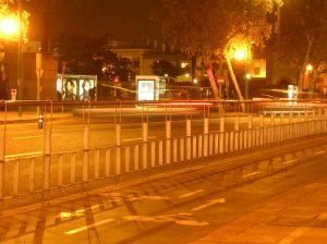 Parada de autobús (nocturno)