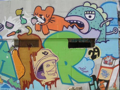 Cadena alimenticia. Grafiti 63.