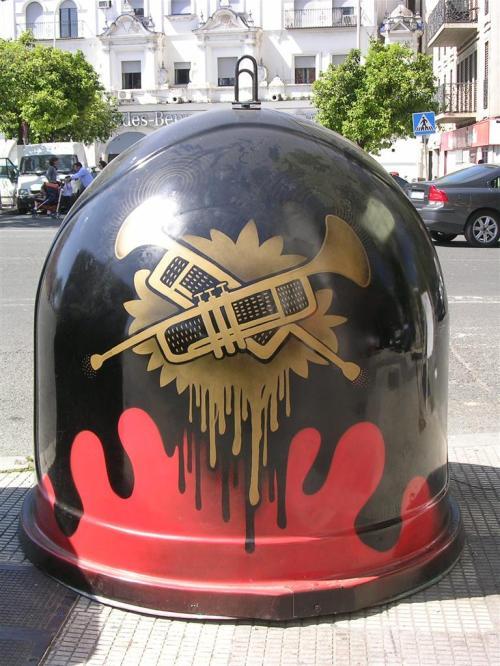 Trompetas. Grafiti 86.