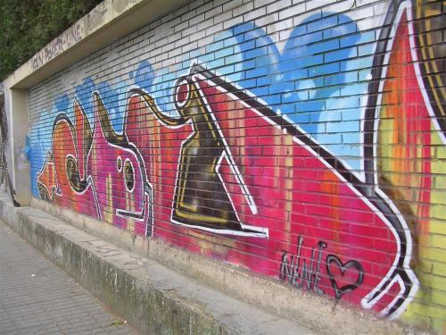 Firma el NENE. Grafiti 96