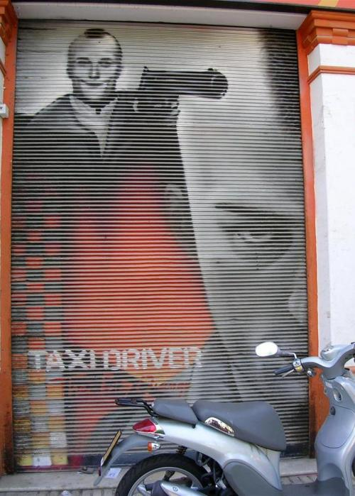 Taxi driver. The Big Orange. Grafiti 99.