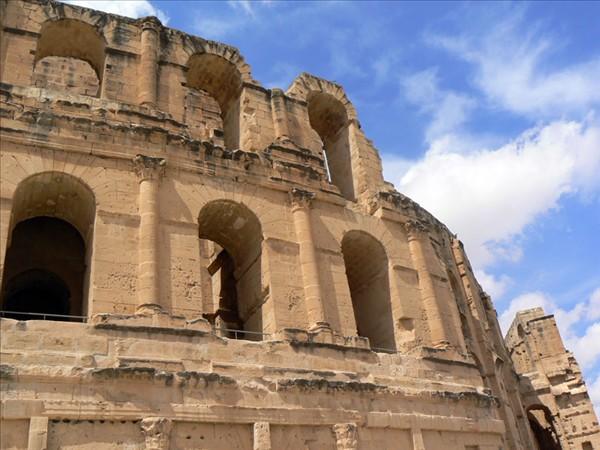 Anfiteatro de El Djem. Túnez (Foto por martin_javier).