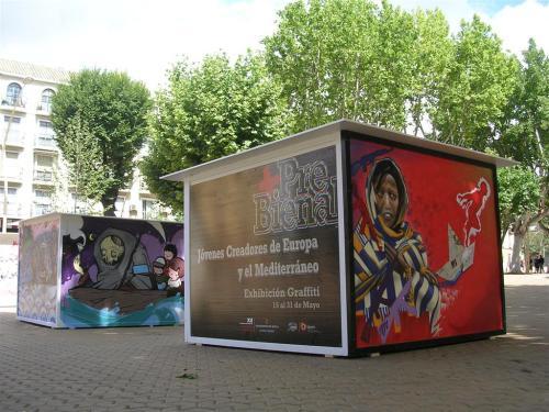 Exhibición Graffiti. Grafiti 102.