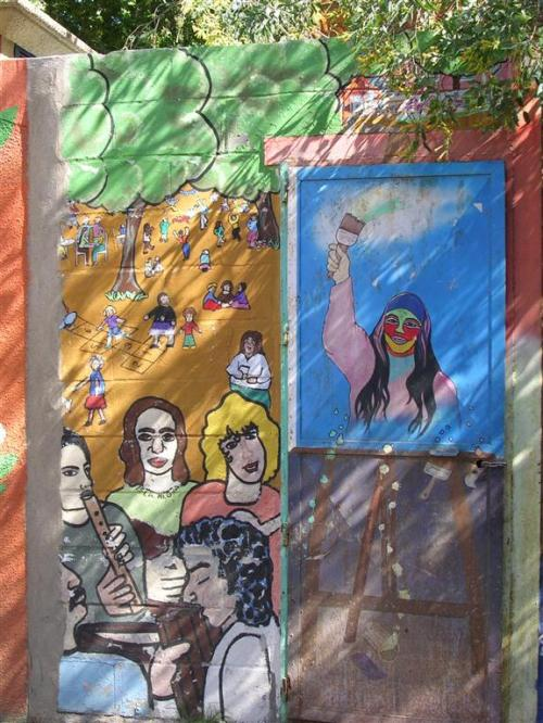 17/06/09 - Foto Grafiti 118 Mural en la Alameda de Hércules (III). Grafiti 118.