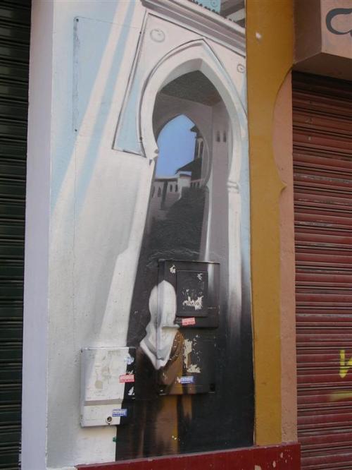Casa del Té. Grafiti 121.