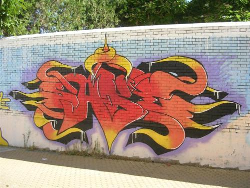 TAG. Calle Doctor Letamendi. Grafiti 132.