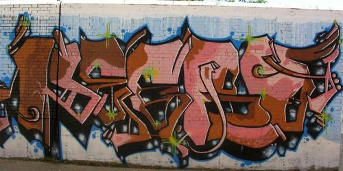 tag. Calle Doctor Letamendi - Sevilla. Grafiti 134.