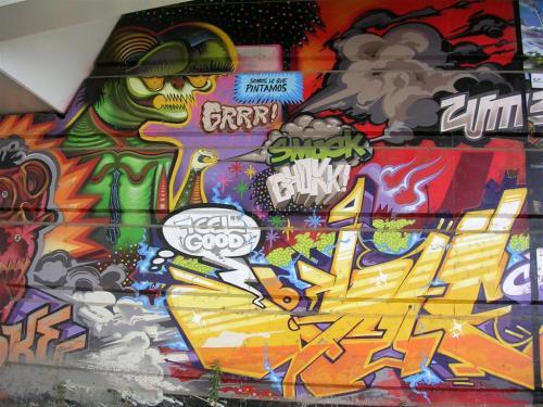 """""""Somos lo que pintamos"""". Grafiti 143."""
