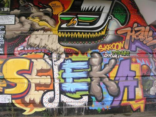 SELEKA. Grafiti 145.
