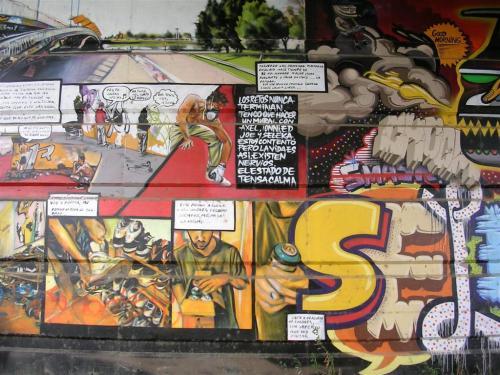 """""""Los retos nunca terminan..."""" Foto Grafiti 146."""