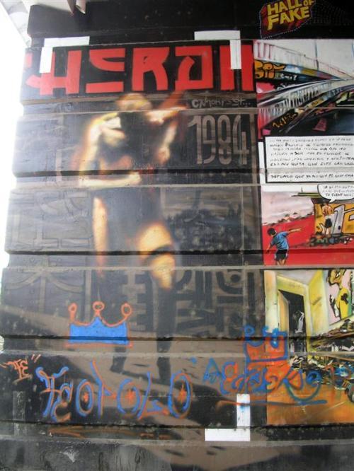 Hero II - c'mon. 1984 - Grafiti 148.