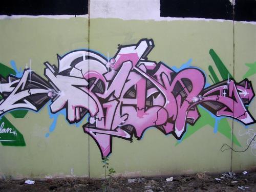TAG. Firma sin identificar. Grafiti 153.