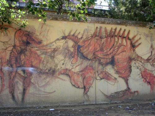 Dinosaurios. Foto Grafiti 154.