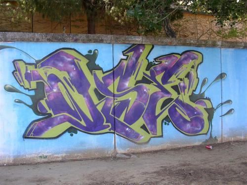 TAG. Firma sin identificar. Grafiti 160.