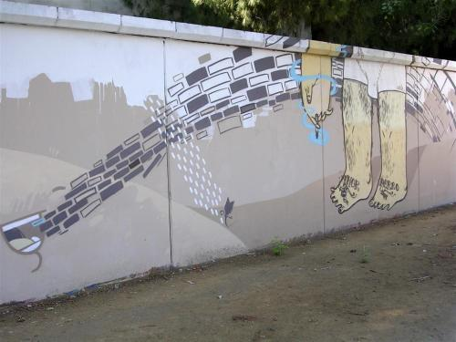 Amor  Perro. Firma Lahe. Mosterland - Srg. Grafiti 164
