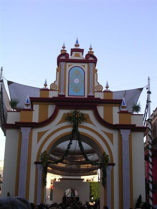 Portada del Corpus en la plaza San Francisco - Sevilla. Corpus Christi 2009