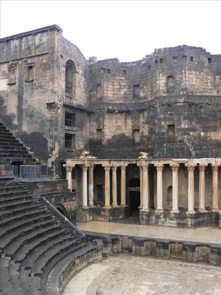 Teatro romano de Bosra - Siria.