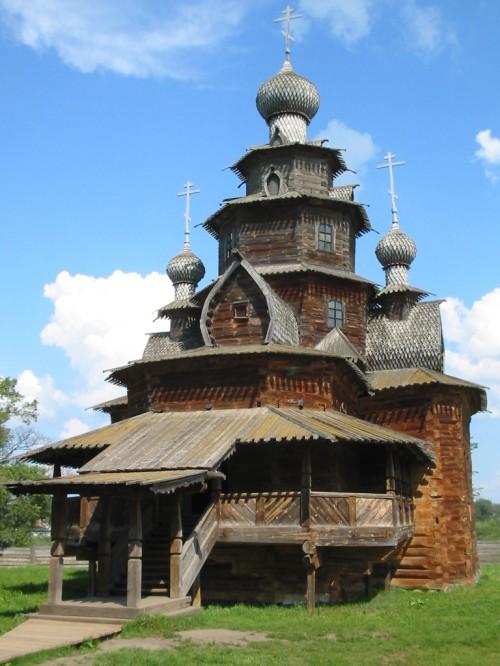 Museo de Arquitectura de Madera - Súzdal - F. Rusia