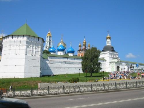 Monasterio de la Trinidad y de San Sergio - Sérgiev Posad - F. Rusia