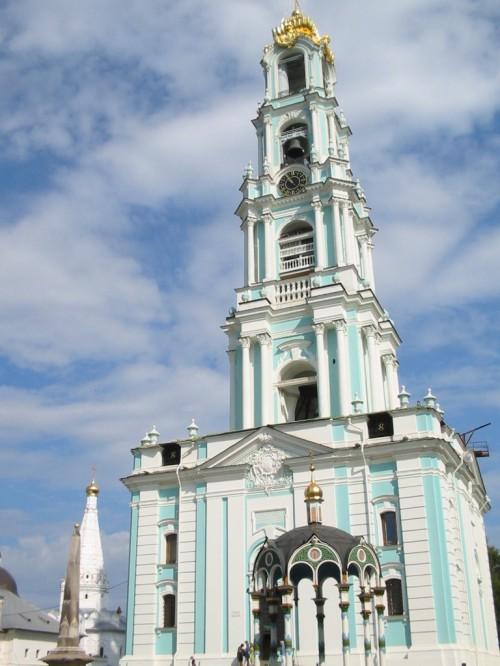 Campanario de la laura de la Trinidad y San Sergio – Sérgiev Posad – F. Rusia