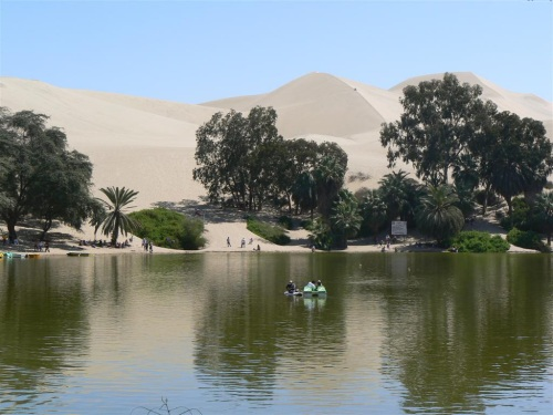 Fotos del Oasis de Huacachina - Perú.