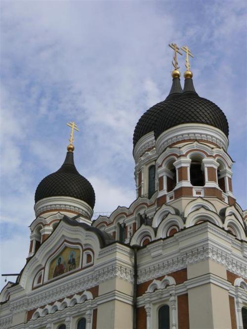 Foto de la Catedral de Alexander Nevski de Tallin - Estonia. Foto por martin_javier.