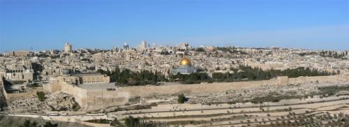 Foto de la Explanada de las Mezquitas de Jerusalem - Israel. Foto por martin_javier.