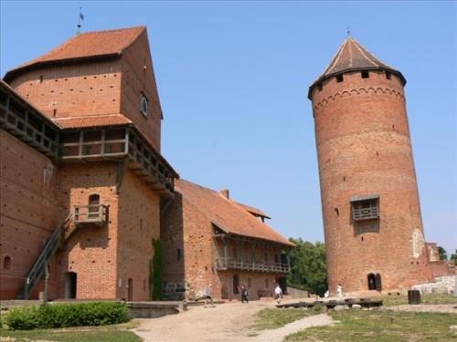 Castillo Medieval de Turaida, siglo XIII. Foto por martin_javier.