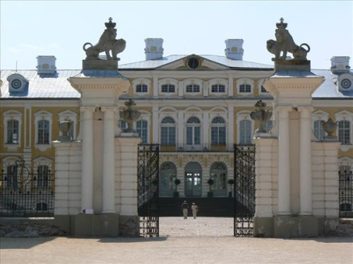Fotos del Palacio de Rundale de Letonia. Foto por martin_javier.