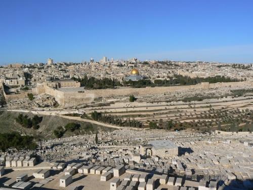 Fotos del Monte de los Olivos en Jerusalem - Israel. Foto por martin_javier.