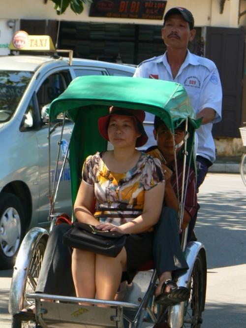 Foto de bicitaxi en Hoi Am - Vietnam. Foto por martin_javier