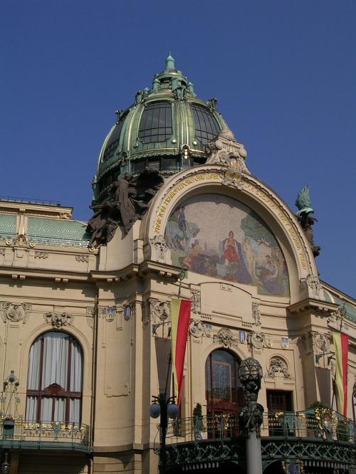 Fotos de la Casa Municipal de Praga - República Checa. Foto por martin_javier