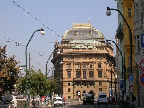 Foto del Teatro Nacional de Praga - República Checa. Foto por martin_javier
