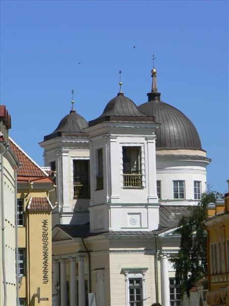 Foto de la iglesia ortodoxa de San Nicolás en Tallin - Estonia. Foto por martin_javier.