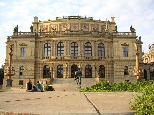 Fotos del Rudolfinum en Praga - República Checa. Foto por martin_javier.