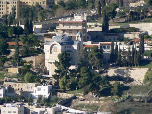 Fotos de la Iglesia de San Pedro in Gallicantu de Jerusalem - Israel. Foto por matin_javier.