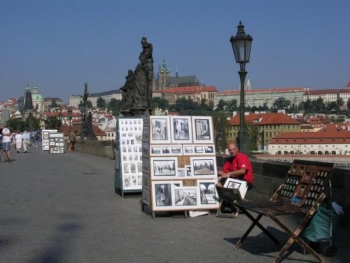 Fotos del Puente de Carlos en Praga - República Checa. Foto por martin_javier.
