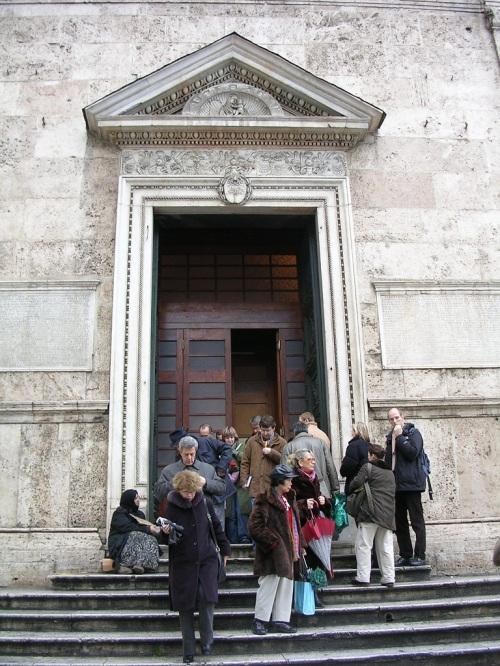 Foto de la Basílica Santa Maria sopra Minerva en Roma - Italia. Foto por martin_javier