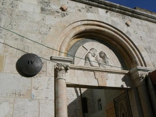 Fotos de la Vía Dolorosa - Cuarta Estación. Jerusalen. Israel. Foto de martin_javier
