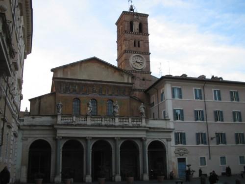 Fotos de la Basílica de Santa María en Trastevere en Roma - Italia. foto por martin_javier