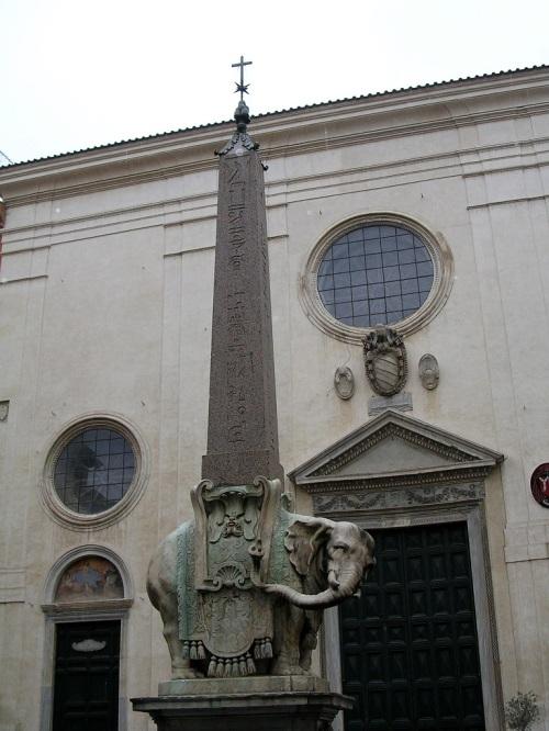 Fotos de El Pulcino della Minerva - elefante del obelisco - Roma - Italia. Foto por martin_javier
