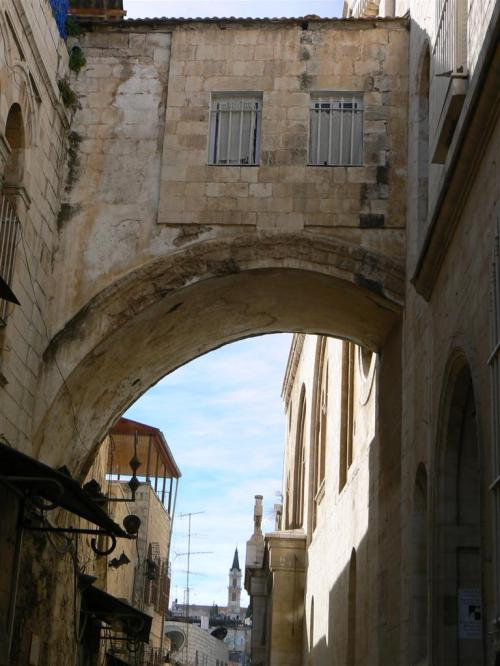 Fotos de la Vía Dolorosa: Segunda Estación. Jerusalem – Israel. Foto por martin_javier