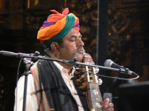 Fotos del concierto de Divana Ensamble - Poesía y música de Rajasthan - V Festival de Músicas Comtemplativas. foto martin_javier