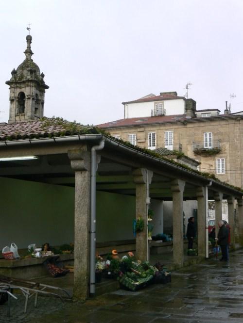 Fotos del Mercado o Plaza de Abastos de Santiago de Compostela - España
