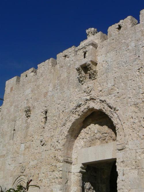 Fotos de la Puerta de Sión o Puerta de David en Jerusalem – Israel. foto por martin_javier