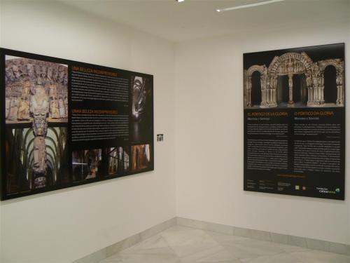"""Fotos de la exposición """"El Pórtico de la Gloria. Misterio y sentido"""" - Santiago de Compostela - España. Foto por martin_javier"""