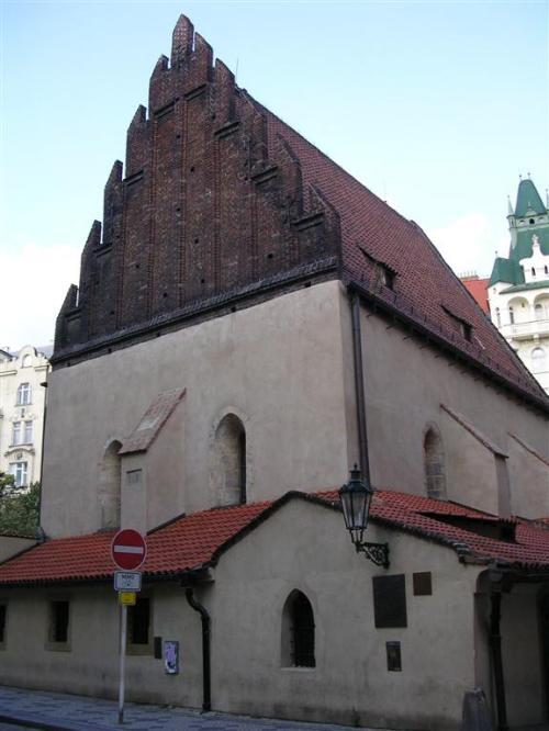 Foto de la Sinagoga Vieja-Nueva en Praga - República Checa. Foto por martin_javier