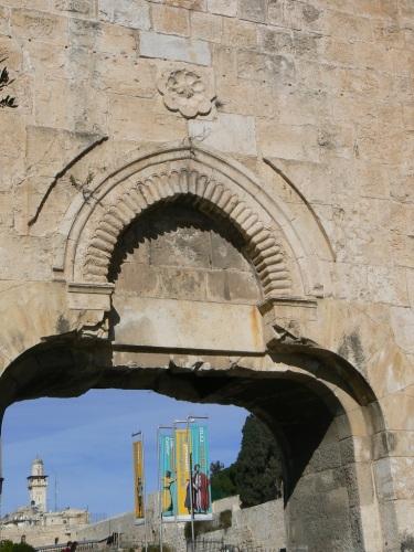 Fotos de la Puerta de los Desperdicios en Jerusalem – Israel. Foto por martin_javier