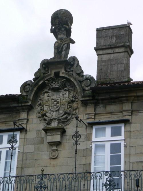Fotos del Pazo de Bendaña en Santiago de Compostela - España. Foto por martin_javier