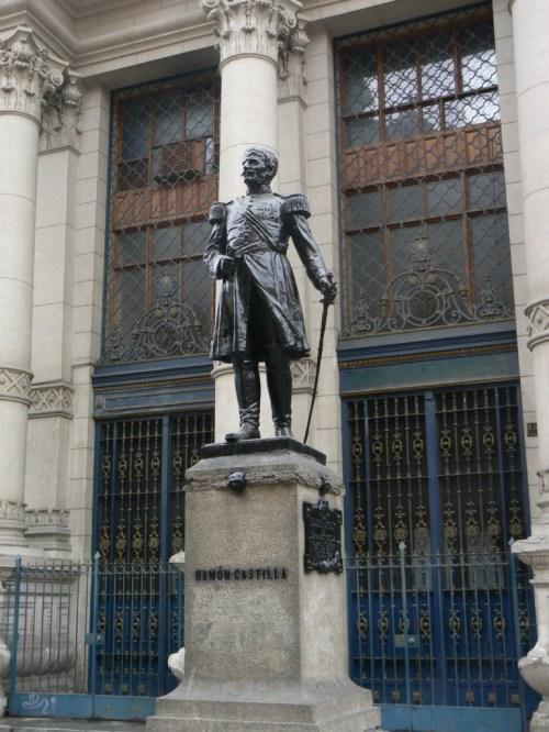 Foto de la estatua de Ramón Castilla en Lima - Perú. Foto por martin_javier